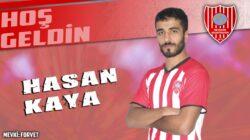Nevşehir Belediyespor, Hasan Kaya'yı transfer etti.