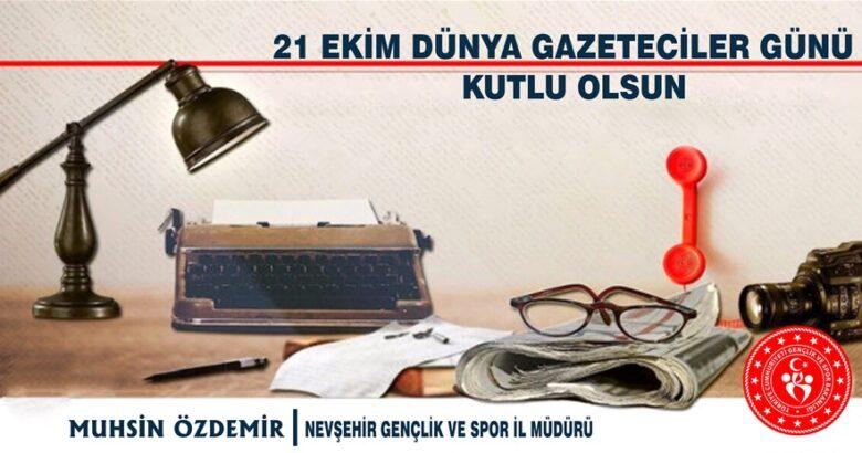 Özdemir'den kutlama