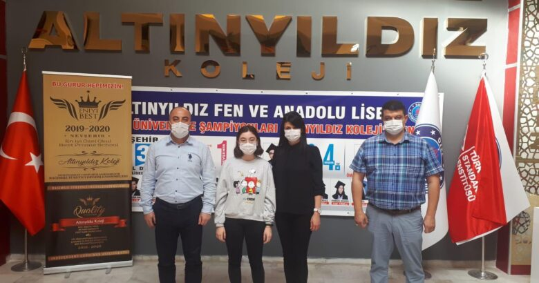 ALTINYILDIZ KOLEJİ FEN LİSESİ ÖĞRENCİSİ KOMPOSİZYON TÜRKİYE 2.Sİ