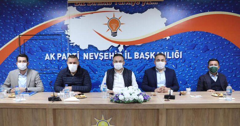Genişletilmiş gençlik kolları ve belde başkanları toplantısı yapıldı