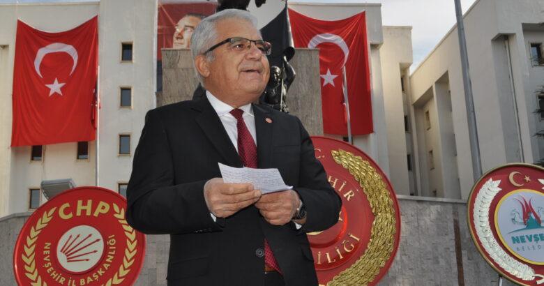 CHP'den Cumhuriyet Bayramı kutlama programı