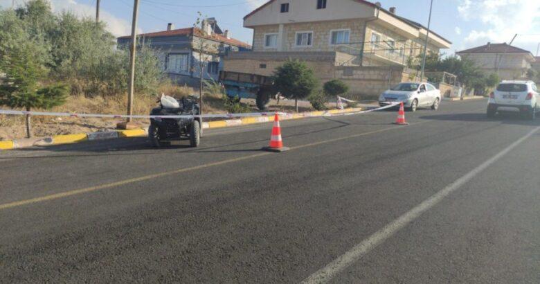 Sulusaray'da ATV kazası