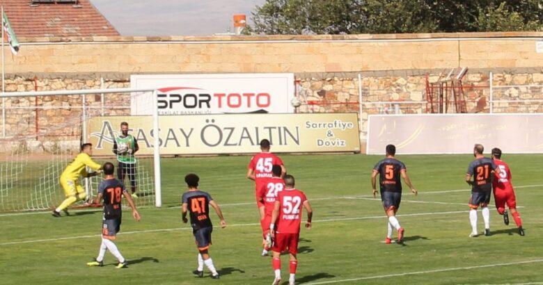 Nevşehir Belediyespor, Kozan FK yi eleyerek bir üst tura yükseldi!