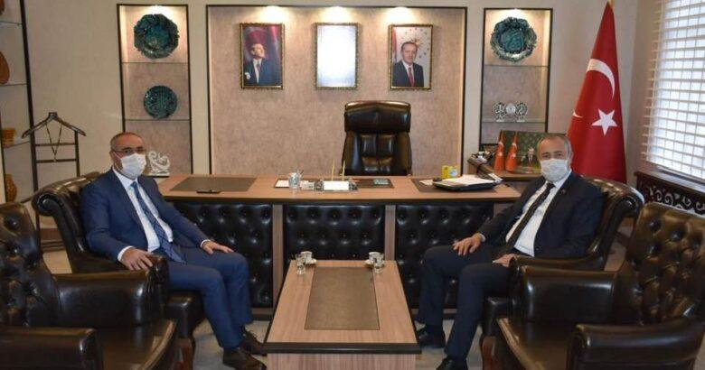 Başkan Dinç Niğde meclis başkanını ağırladı