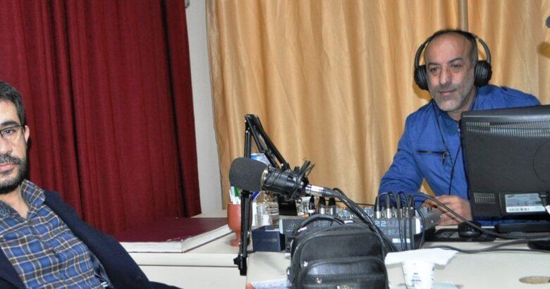 Başkan Çiftci, Kapadokya FM'e konuk oldu