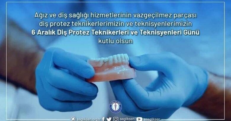 Diş Protez Teknikerleri ve Teknisyenleri gününüz kutlu olsun