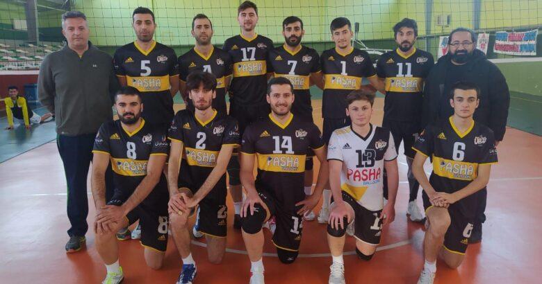 Ürgüpspor voleybol takımı liderliğe yükseldi