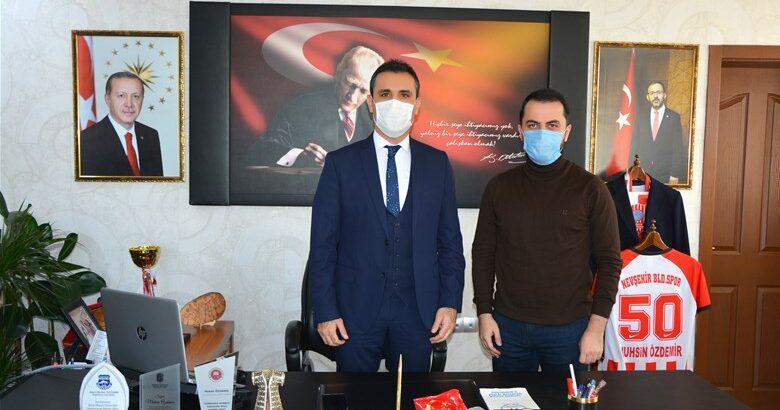 Kasapoğlu, Özdemir'i ziyaret etti.