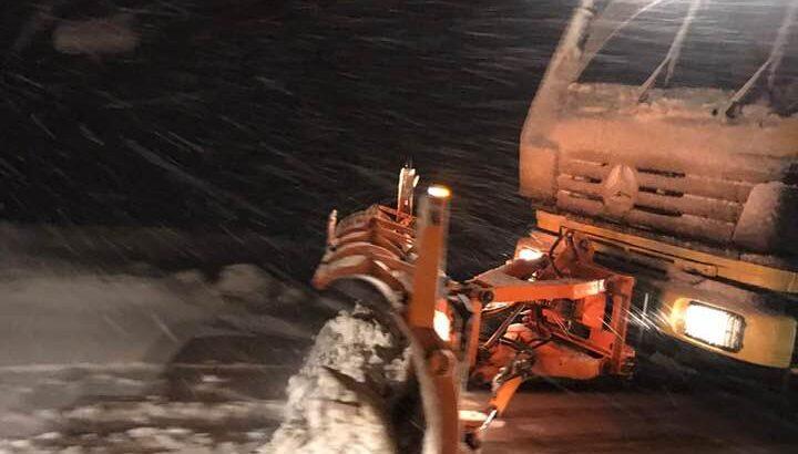 Başkan Dinç'ten karla mücadele ekiplerine teşekkür