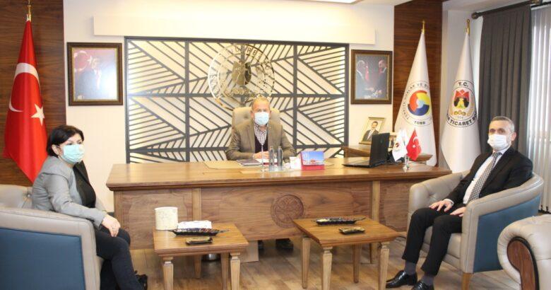 Baltacı'dan NTB'ye Bilgilendirme Ziyareti