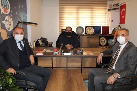 Kardelen Koleji'nden, KGK İl Başkanı Karaca'ya ziyaret