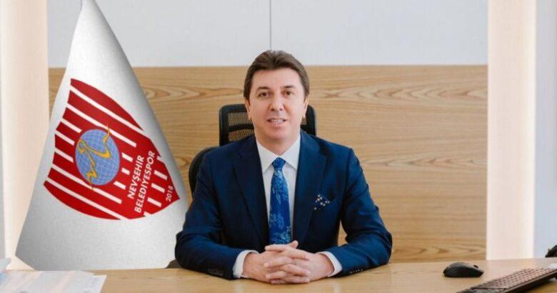 Nevşehir Belediyespor kulüp Başkanı Esat Özaltın Yeni Yıl Mesajı