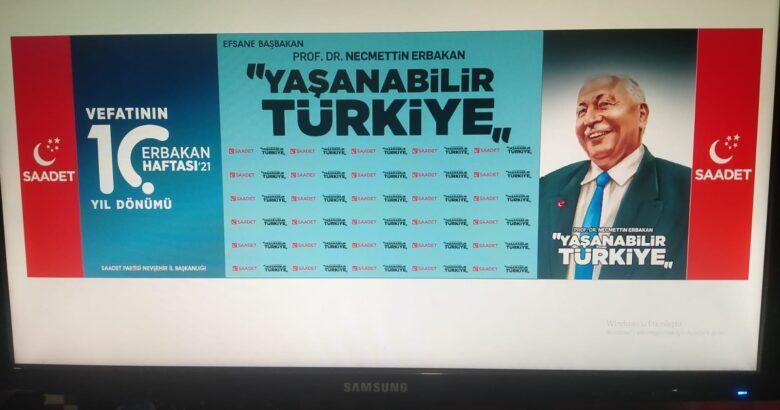 SP Erbakan'ı anacak