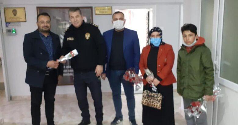 Gülşehir AK Gençlik Polisinin yanındaydı