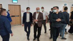 Ünlübay Devlet Hastanesi Ek Binasını ve Aşı Polikliniklerini İnceledi