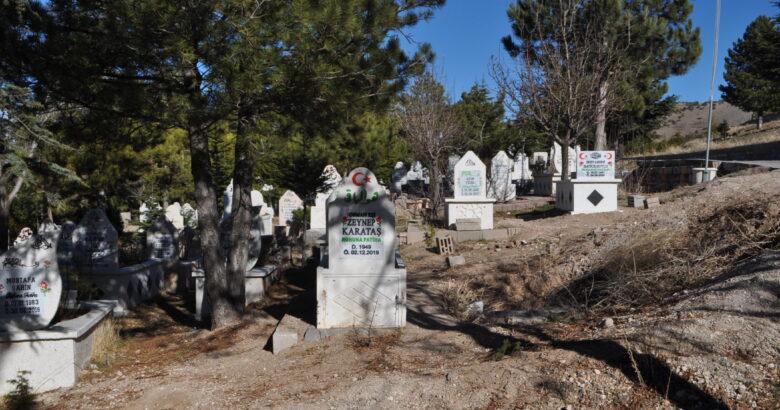 Yedek mezarlığı bile hazır