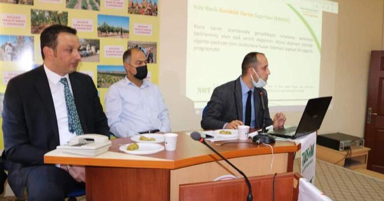TARSİM Kuraklık Riskine Karşı Sigortalama Bilgilendirme Toplantısı Yapıldı