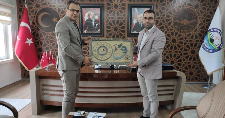 Aksaray Cumhuriyet Başsavcısından Başkan Güneş'e ziyaret