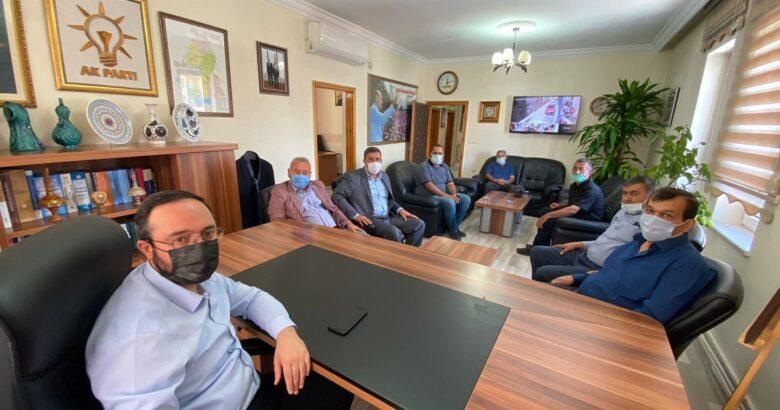 Koordinasyon heyeti Başkan Kemikkıran'ı ziyaret etti