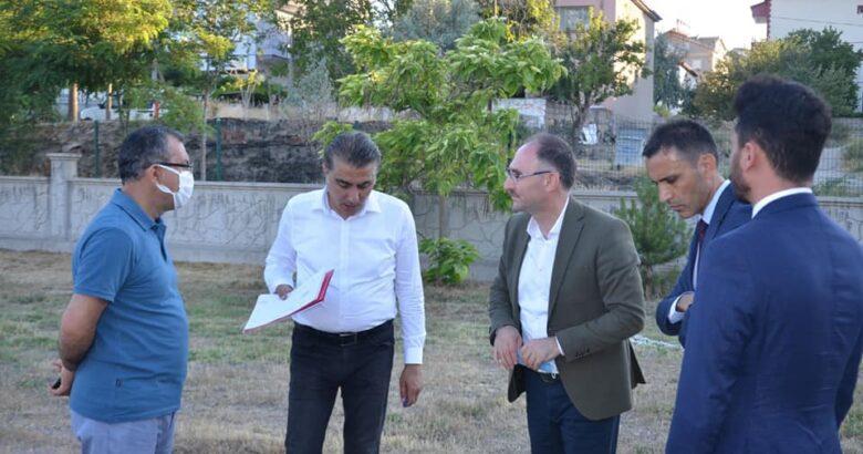 Genel müdür yardımcısı Şahin Gülşehir'deydi