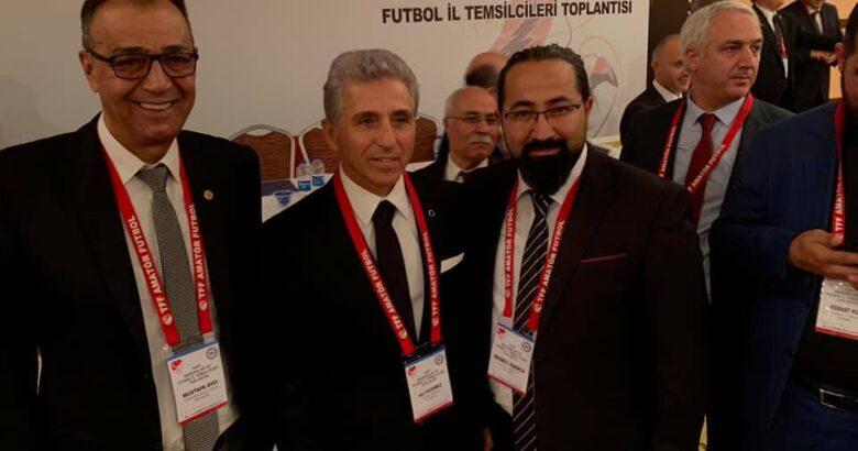 Avcı ve Karacadan Başkan Düşmez'e kutlama