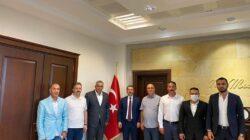 Başkan Kaya ve yönetiminden Başsavcıya ziyaret