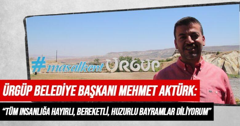 Başkan Mehmet Aktürk'ün Kurban Bayramı Mesajı